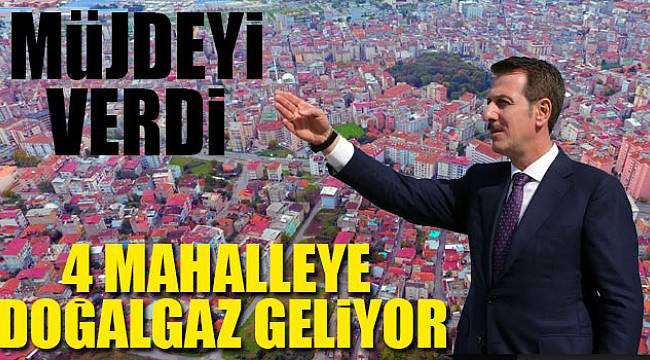 Kadıköy, Zeytinlik, Fatih ve Anadolu mahallerine doğalgaz