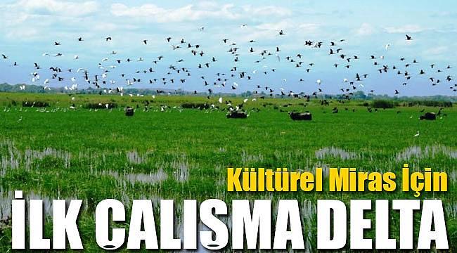 Kızılırmak Ddeltası'nda Türkiye'de ilk çalışma