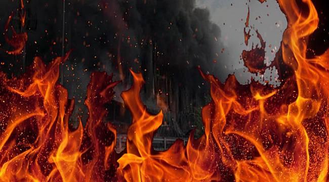 Kocaeli Dilovası'nda parfüm fabrikasında büyük yangın