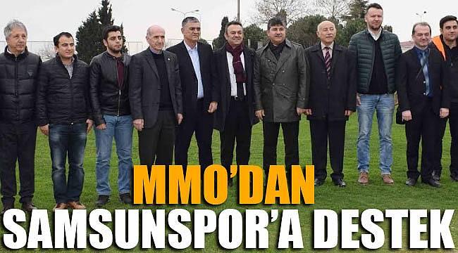 MMO'dan Samsunspor'a tam destek