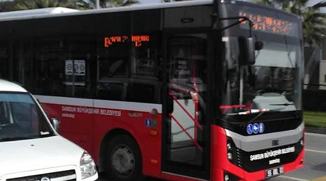 Samsun'da otobüs ve dolmuş ücretlerine zam yapıldı tarife değişti