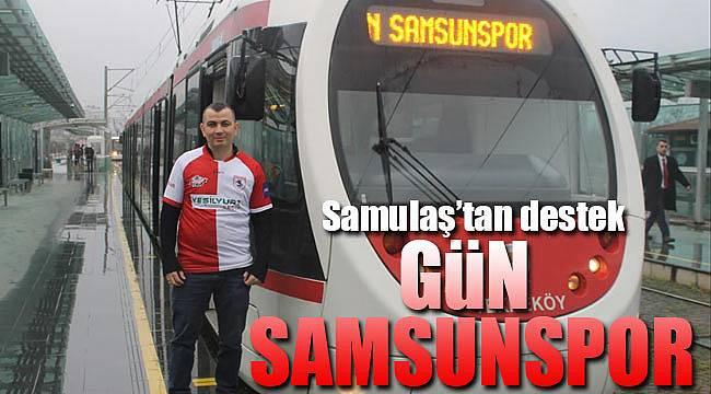 SAMULAŞ'tan Samsunspor'a destek