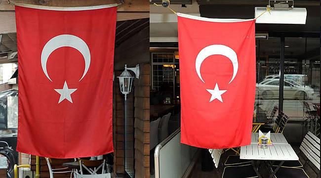 Türk Bayraklı destek