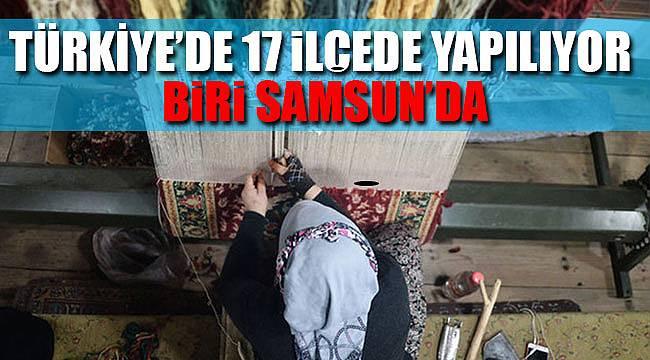 Türk el sanatları Samsun'da yaşıyor