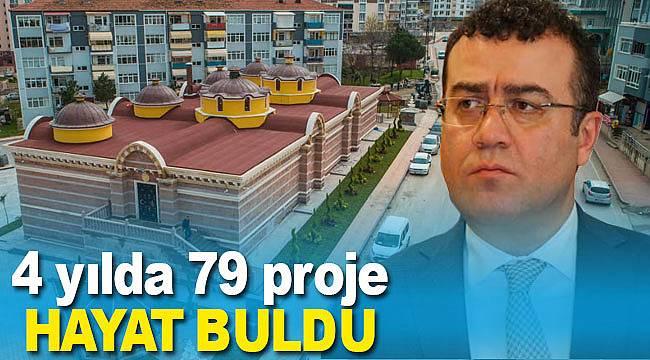 Atakum'da hayat bulun 79 proje