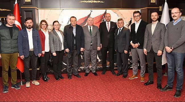 Balkan Türklerinden Togar'a ziyaret