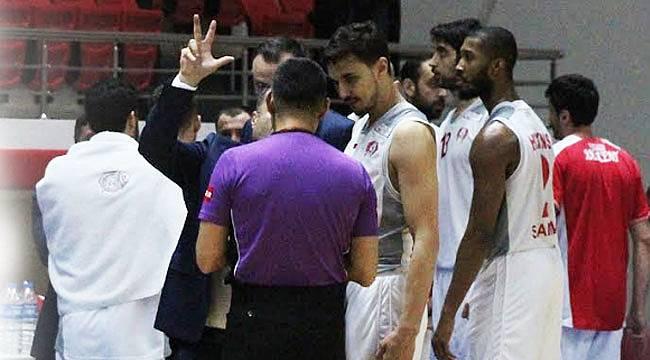 Basket maçında son an kararı