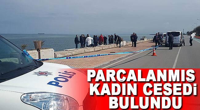 Sahilde parçalanmış kadın cesedi bulundu