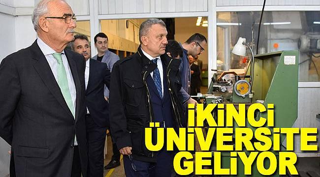 Samsun'a ikinci üniversite için kollar sıvandı