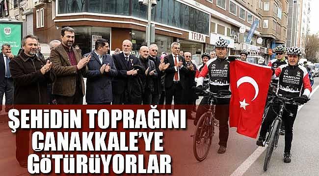 Samsun'dan Çanakkale'ye pedal çevirecekler