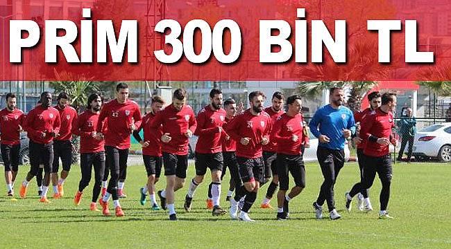 Samsunspor'da galibiyete büyük prim