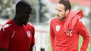 Samsunspor'da iki oyuncu yok