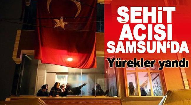 Şehit pilot Samsun'da uğurlanıyor