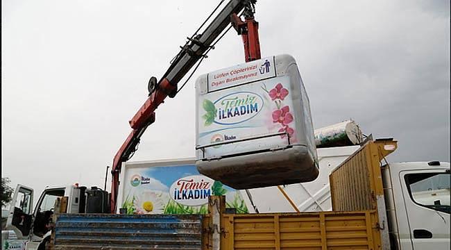 106 bin ton çöp toplandı