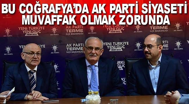AK Parti siyaseti muvaffak olmalı