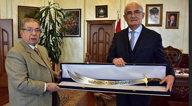 Başkan Yılmaz'a Zülfikar Kılıcı