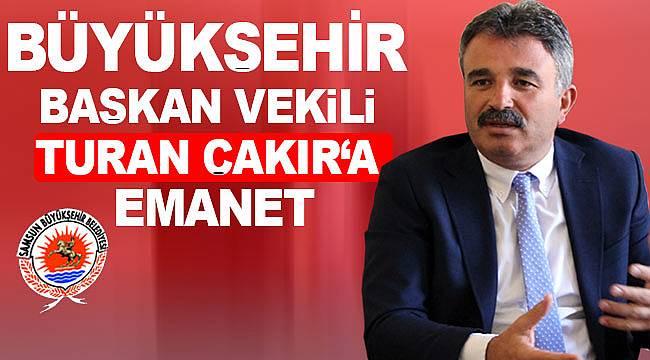 Büyükşehir, tecrübeli isim Turan Çakır'a emanet