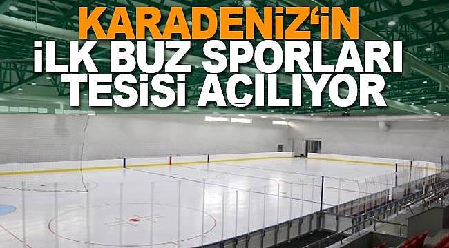 Buz sporları tesisi açılıyor
