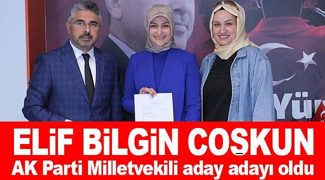 Elif Bilgin Coşkun AK Parti'den milletvekili aday adayı