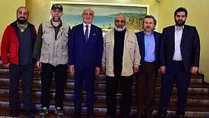 İHH Genel Başkanı Samsun'da