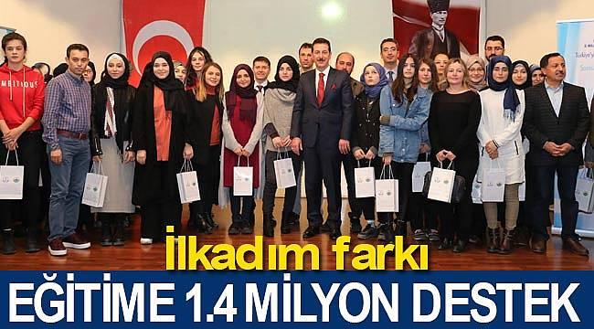 İlkadım'da eğitime 1.4 milyon destek