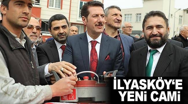 İlyasköy'e yeni cami