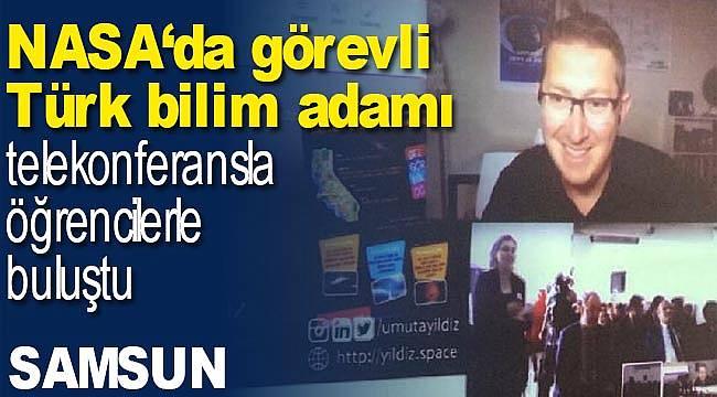 NASA'da görevli Türk öğrenciler buluştu