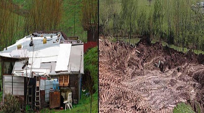 O iğrenç olayların yaşandığı çiftliği yıkıldı
