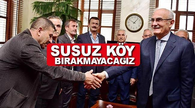 Samsun'da susuz köy kalmayacak