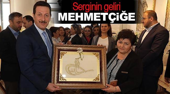 Serginin geliri Mehmetçiğe