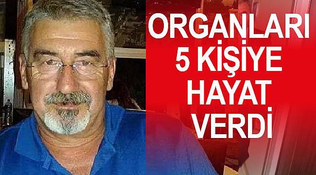 2 çocuk babası organlarıyla 5 kişiye hayat verdi