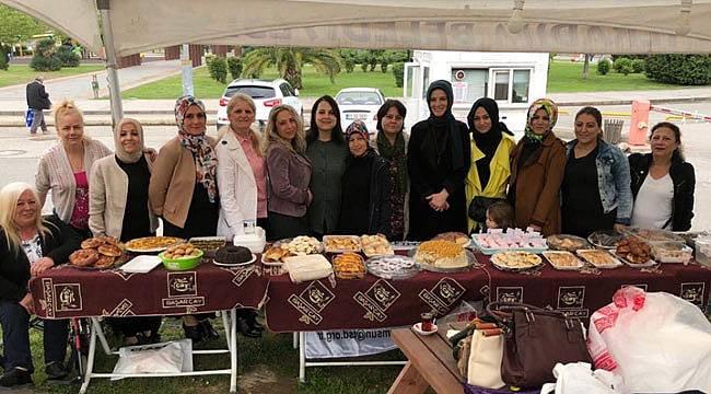 AK Parti'li kadınlardan engellilere destek