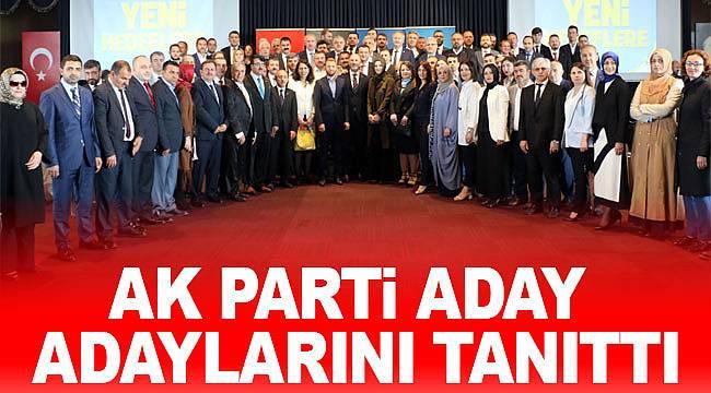 AK Parti Samsun milletvekili aday adayları tanıtıldı