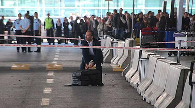 Atatürk Havalimanı'nda valizde bomba şüphesi