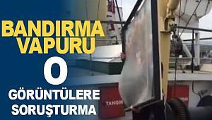 Bandırma Vapurun'da Atatürk fotoğraflarının atılmasına soruşturma
