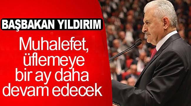 Başbakan Yıldırım'dan muhalefete seçim vaadi eleştirisi
