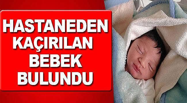 Hastanede yeni doğan bebeği kaçırdılar