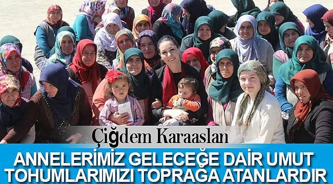 Karaslan'dan, Anneler Günü Mesajı