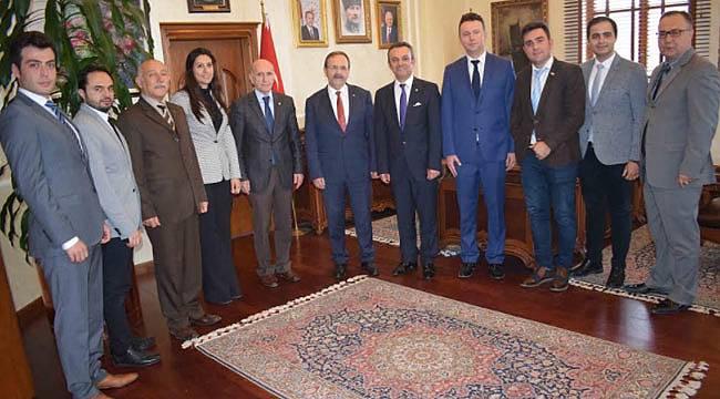 MMO'dan Başkan Şahin'e ziyaret