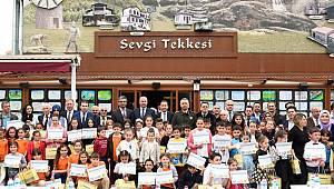 Öğrenciler Tekkeköy'ü resmetti