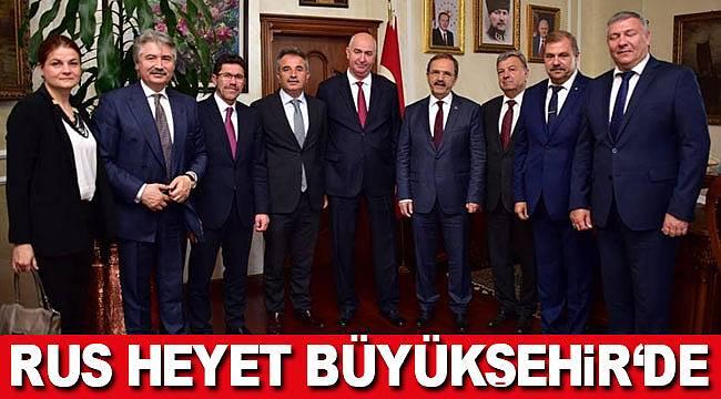 Rusya Samsun işbirliği güçleniyor