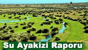 Su Ayakizi Raporu Değerlendirme Çalıştayı