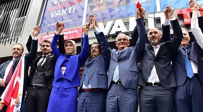 Yılmaz, AK Parti oldukça gülen yüzler bitmeyecek