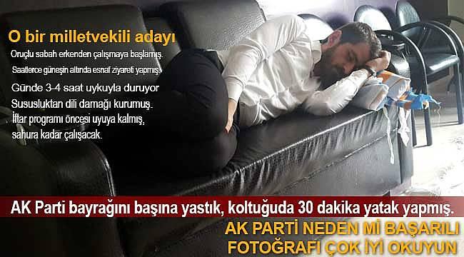 AK Parti'de dinlenme kısa süreli oda koltukta