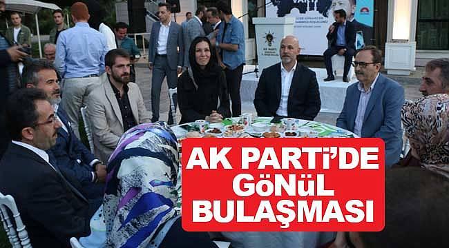 AK Parti'de gönül iftarı