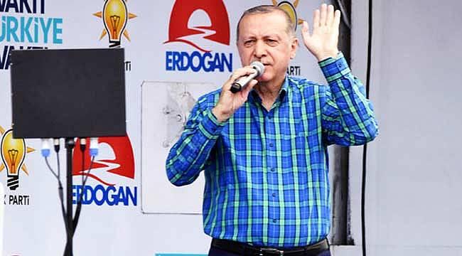 Cumhurbaşkanı Erdoğan, İnce'ye cevabını verdi