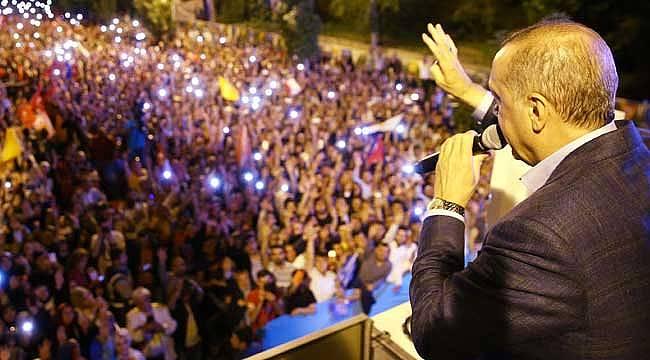 Erdoğan'dan muhalefete sert prompter cevabı