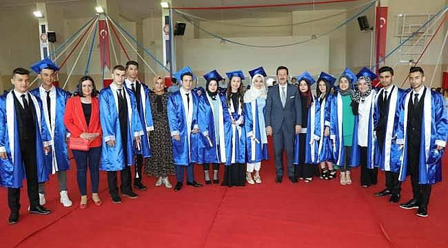 Piri Reis MTAL'da mezuniyet