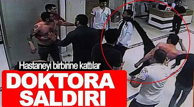 Samsun'da hastane acilinde doktor darp edildi