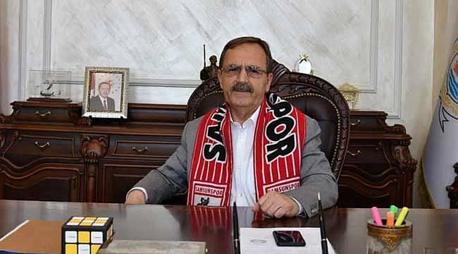 Samsunspor'a destek mesajı